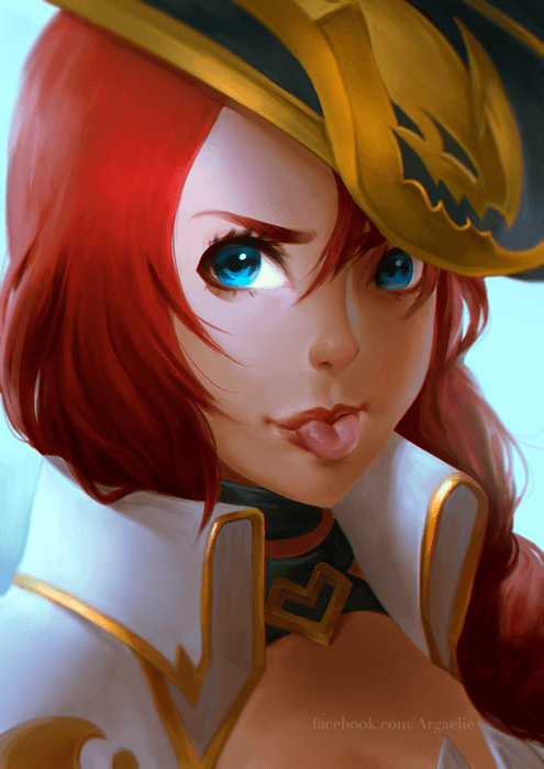 Captain Miss Fortune Fanart by xiliuv