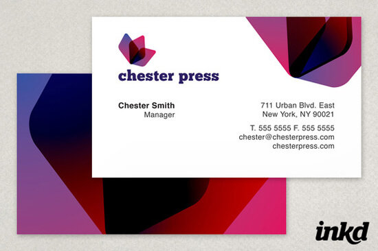 Chester Press Printing by inkddesign