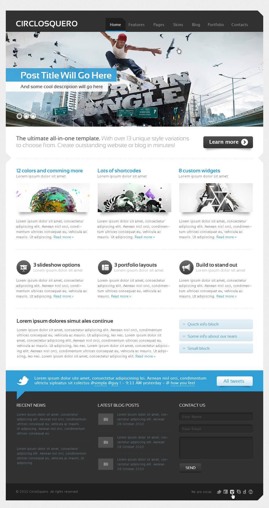 CircloSquero AIO WordPress by PremiumThemes