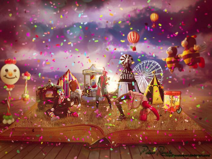 Circus by Renata-s-art