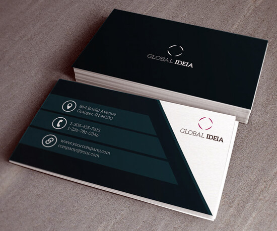 Clean Business Card by orlandolucas1