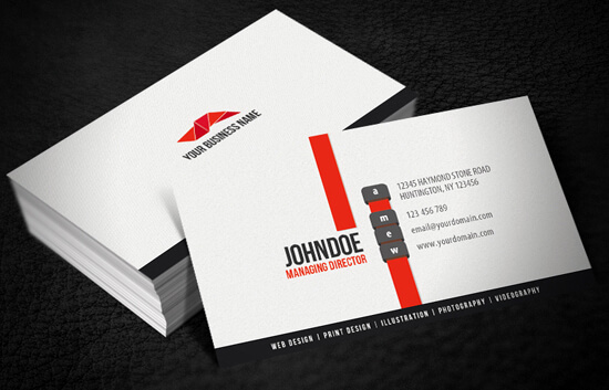 Clean Modern Business Card by glenngoh