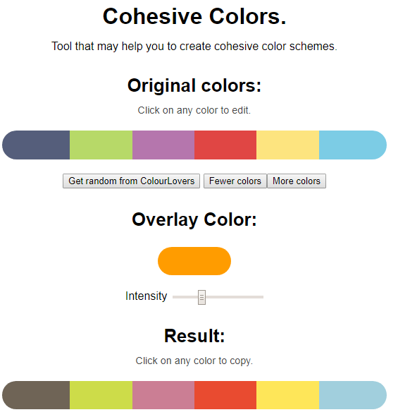 Colors Tool