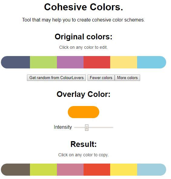 Colors Tool