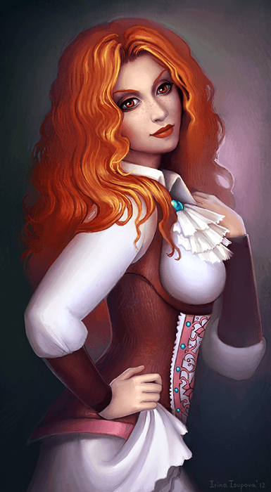Commission Sheonna by Irina-Isupova