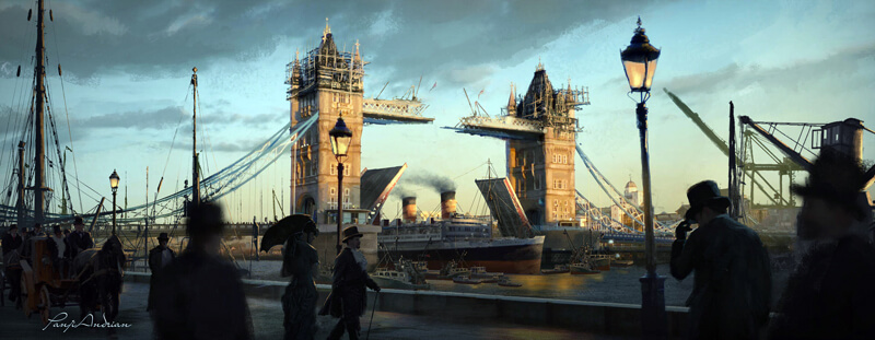 Concept training ( Tower Bridge ) by panjoool