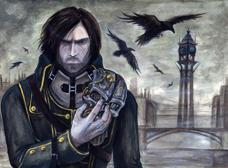 Corvo Attano by RavenCorona