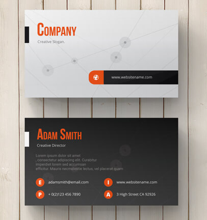 Creative Business Card Template by Li3Works