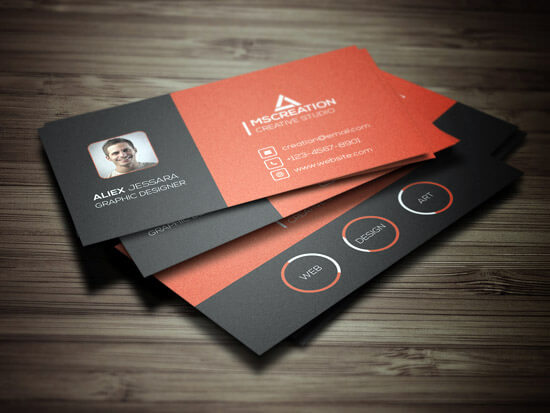 Creative Business card by shariyarsojib