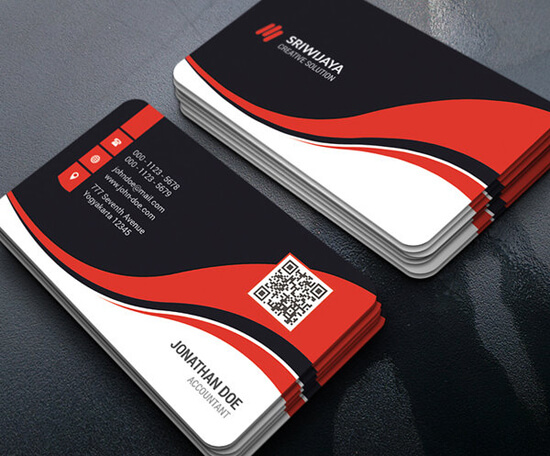 Creative Corporate Business Card by GOWESDESIGN