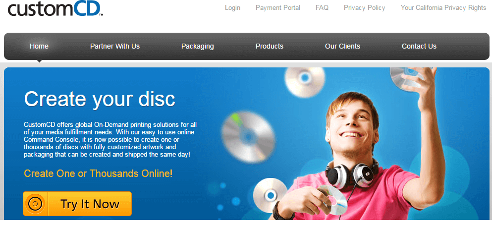 Custom CD