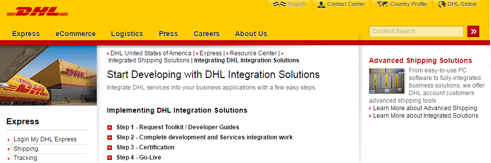 DHL Integrating DHL