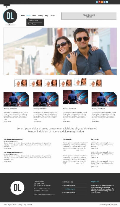 DL WordPress Theme by thisisdanny