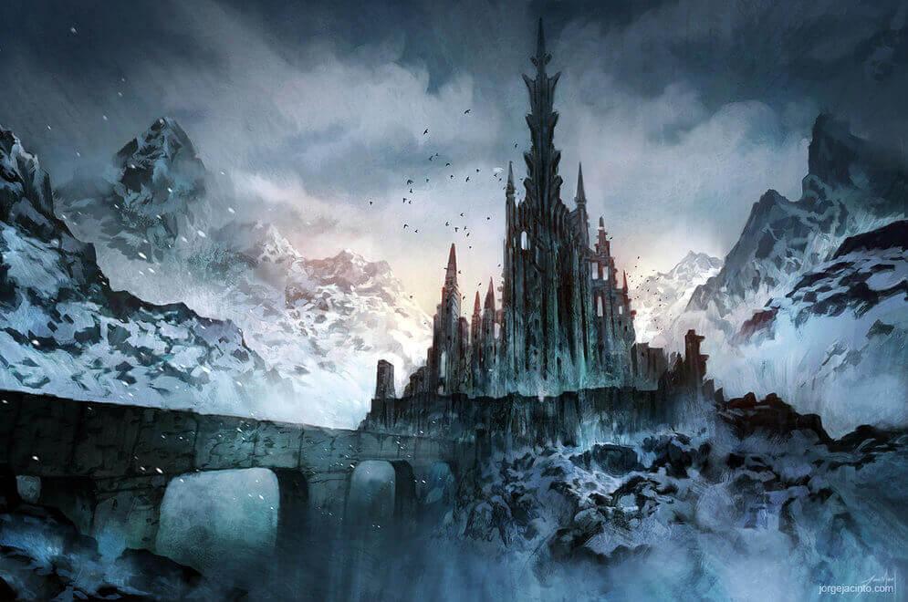 Dark Lords Castle by JJcanvas