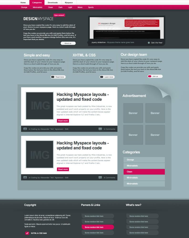 Design MS v.2 by AlxDesign