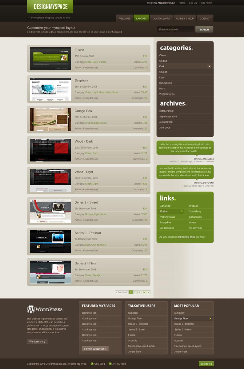 Design MS v.4 by AlxDesign