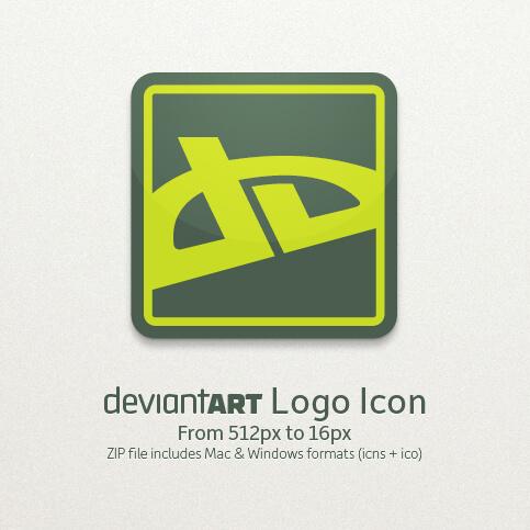 DeviantART Logo Icon by liquisoft