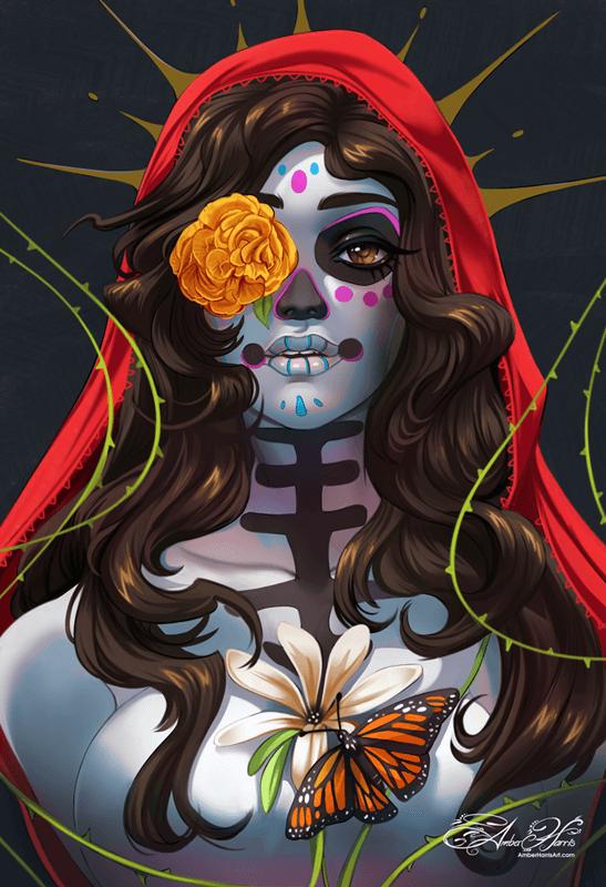 Dia de los Muertos! by AmberHarrisArt