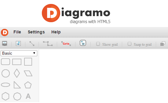 Diagramo - diagram with HTML5