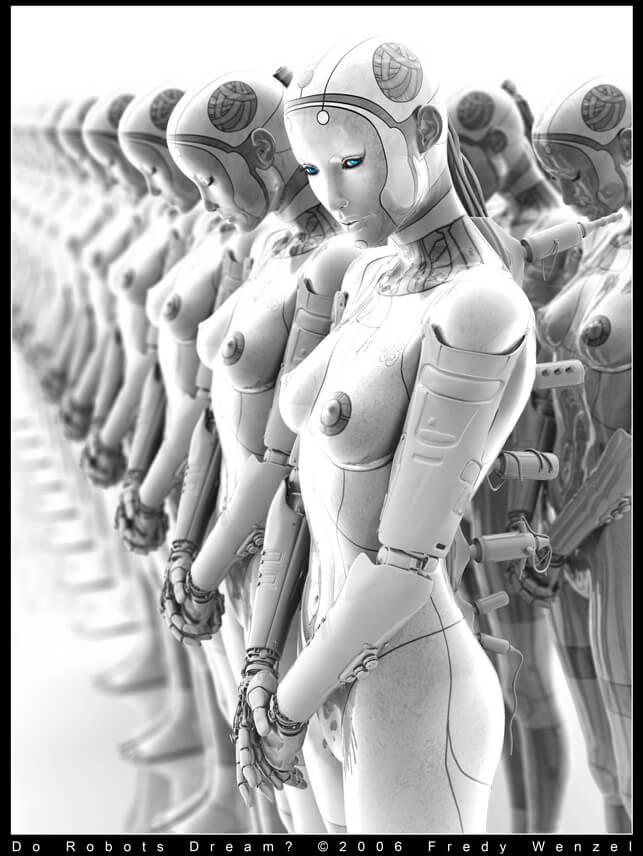 Do Robots Dream by `Fredy3D