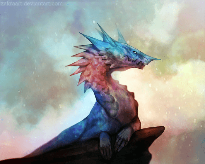 Dragon by ZakraArt