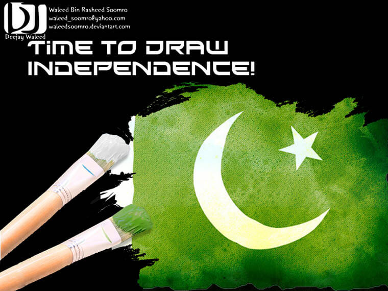 Draw Independence by waleedsoomro