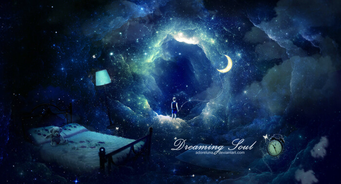 Dreaming Soul by adoreluna
