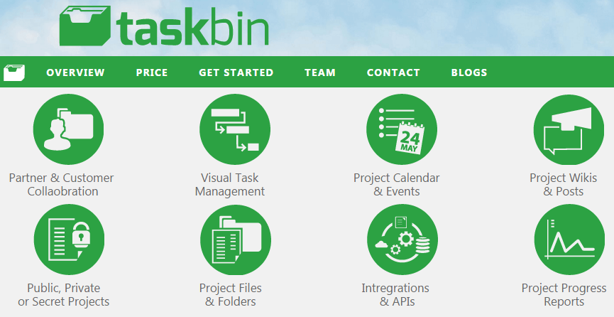 Easily Plan, Organize and Execute On Projects TaskBin.com