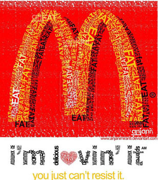 Eat Macdonalds McD Fat by ~anjanimiranti
