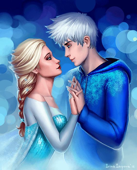 Elsa+Jack by Irina-Isupova