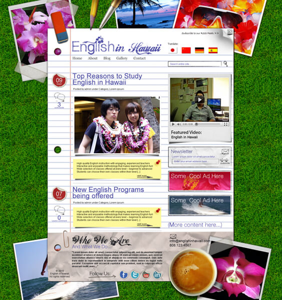 English in Hawaii by ~bojok-mlsjr