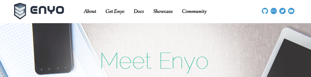 Enyo JavaScript Application