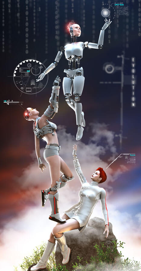 Evolution by `Fredy3D