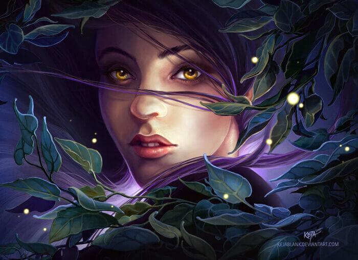 Eyegold by KejaBlank