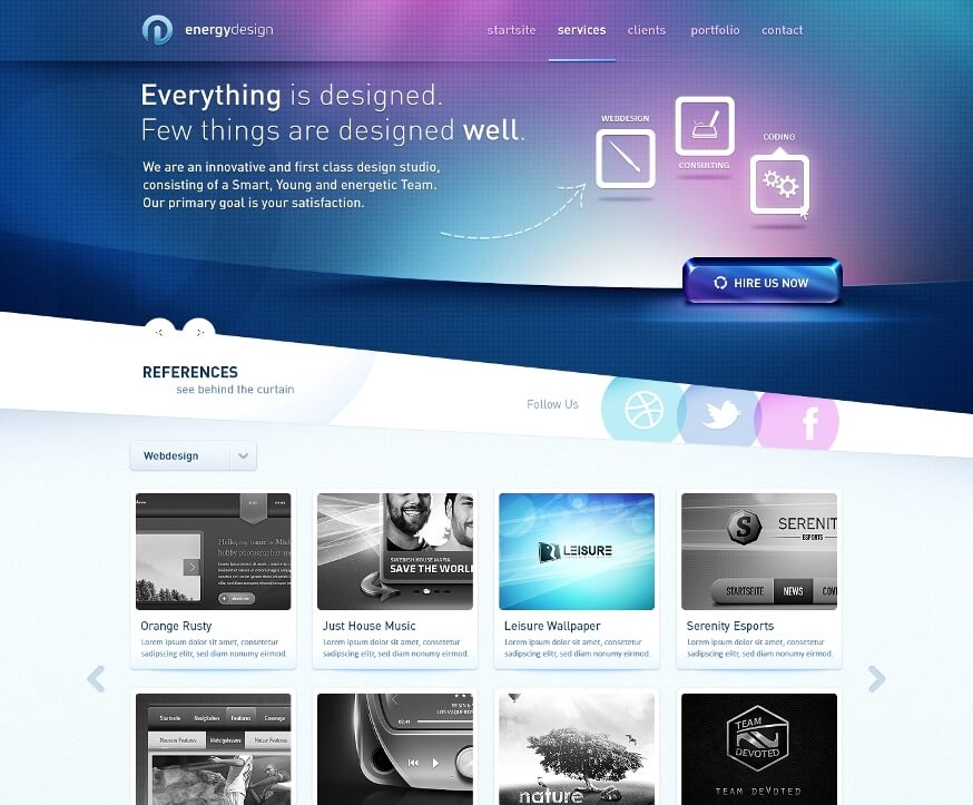 FT-Web Designs and Web Interfaces of 2011-2012 p1