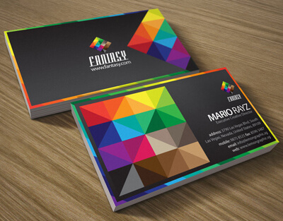 Fantasy business card by Lemongraphic