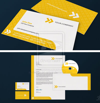 Fast Forward Corporate Design by design-on-arrival