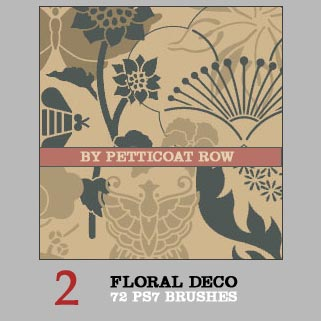 Floral Deco by petticoatrow
