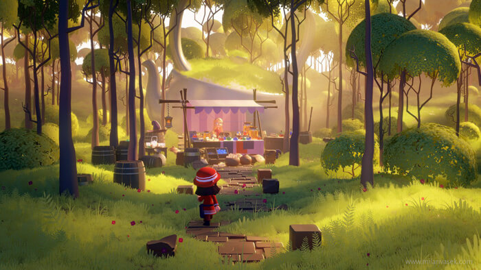 Forest market by MilanVasek