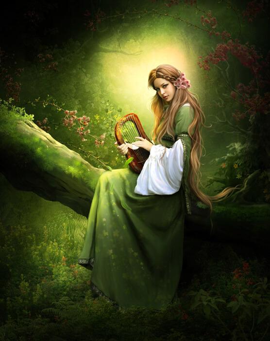 Forest music by ElenaDudina