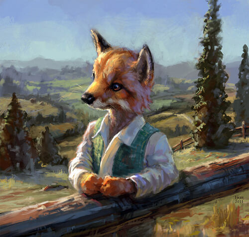 Fox Guy by Wildweasel339