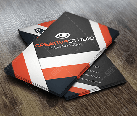 Free Business Card Template by GreyFoxGR by GreyFoxGR