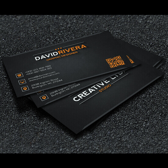 Free – Business Card Template by GreyFoxGR