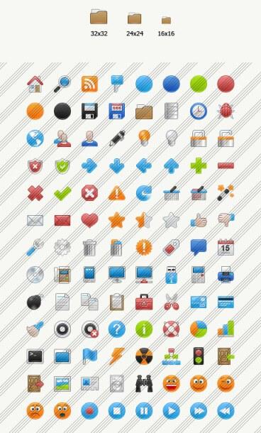 Fresh Basic icon set by kurumizawa