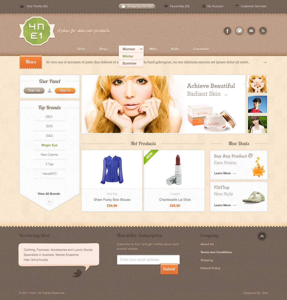 Ft-Top Popular Web Design Interfaces p6