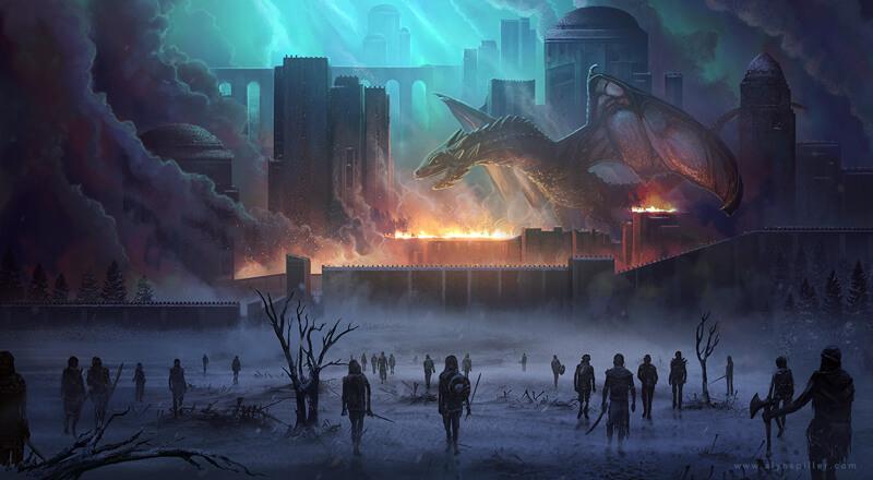 Game of Thrones fan art by AlynSpiller