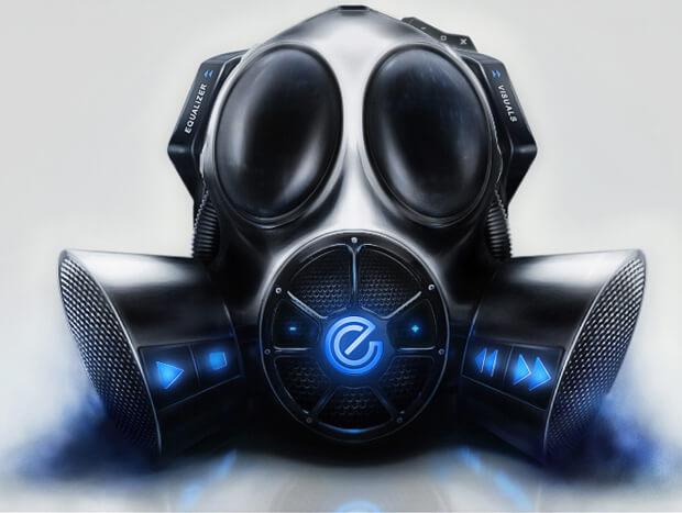 Gas Mask Interface by s0nkite