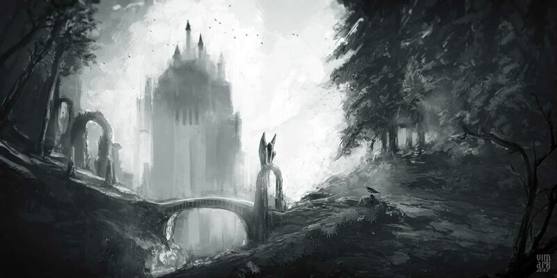 Ghost castle by vimark