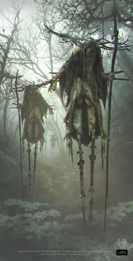 Ghosts of Ituha by LaminIllustration