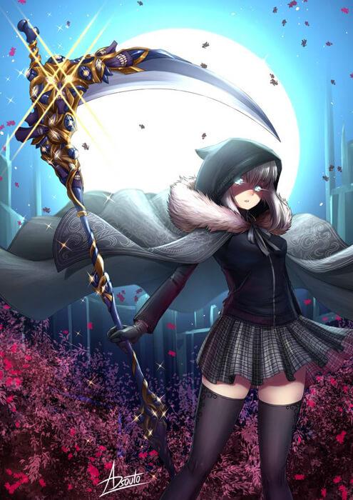 Gray, Assassin / Fate GO - El Melloi II Student by ADSouto
